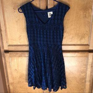 little blue dress!